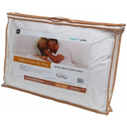 Deluxe Fiber Filled T180 Queen Size Pillow