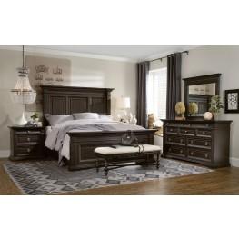 Treviso Brown Panel Bedroom Set