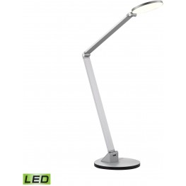 Anodized Aluminium Mono Disc Elbow Desk Lamp