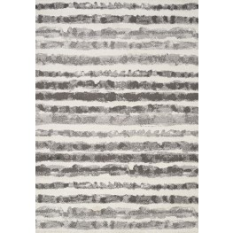Focus Grey Marker Stripes Medium Rug