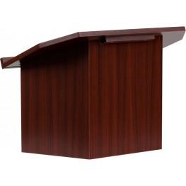 Foldable Mahogany Tabletop Lectern