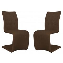 Regis Forma Brown Dining Chair Set of 2