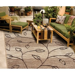 "Four Seasons Kingwood Driftwood Large 130"" Rug"