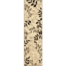"Four Seasons Olive Grove Driftwood Runner 96"" Rug"