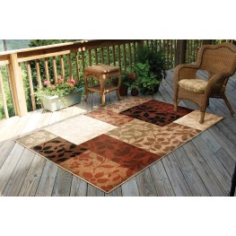 "Four Seasons Monique Multi Medium 90"" Rug"