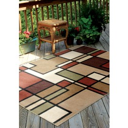 "Four Seasons Thorburn Rawhide Large 130"" Rug"