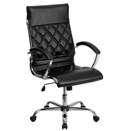 Tall Designer Black Executive Office Chair (Min Order Qty Required)