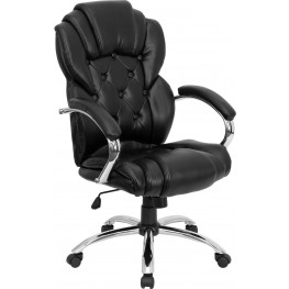 Tall Transitional Style Black Executive Office Chair (Min Order Qty Required)
