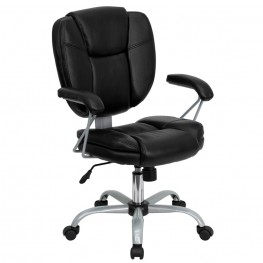 Black Task and Computer Chair
