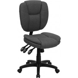 Gray Multi Functional Ergonomic Task Chair