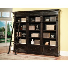 Grand Manor Palazzo 3pc Museum Bookcase