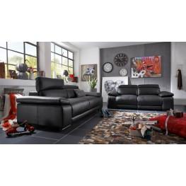 Grace Dark Grey Power Reclining Living Room Set