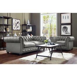 Durango Rustic Grey Living Room Set