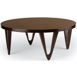 "Georgetown Walnut 42"" Round Coffee Table"