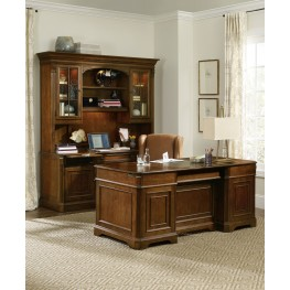 Brookhaven Cherry Home Office Set
