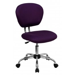 Mid-Back Purple Task Chair (Min Order Qty Required)