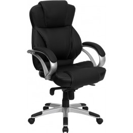 10001031 High Back Black Contemporary Office Chair