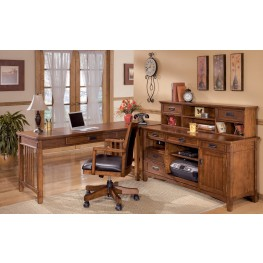Cross Island Credenza Home Office Set