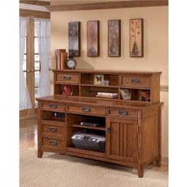 Cross Island Large Credenza w/ Low Hutch
