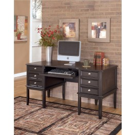 Carlyle Leg Desk with Storage