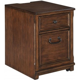 Woodboro Brown File Cabinet