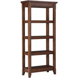Woodboro Brown Large Bookcase