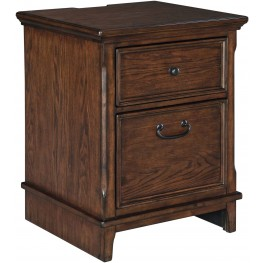 Woodboro Brown Lateral File Cabinet