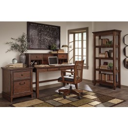 Woodboro Brown Home Office Set