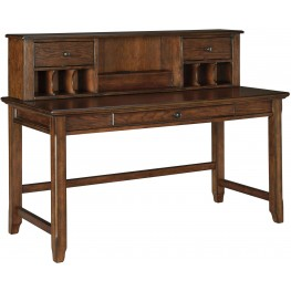 Woodboro Brown Desk With Hutch