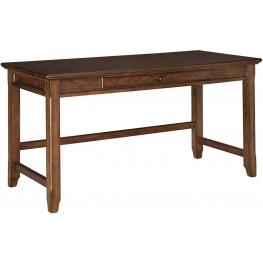 Woodboro Brown Home Office Desk