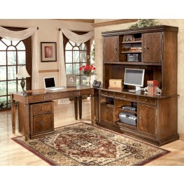 Hamlyn Home Medium Brown Office Set
