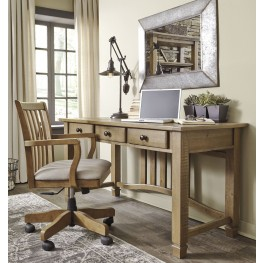 Trishley Weathered Gray Home Office Set