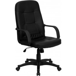 High Back Black Glove Executive Office Chair (Min Order Qty Required)