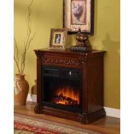 Starlight Fireplace Mantel with Insert