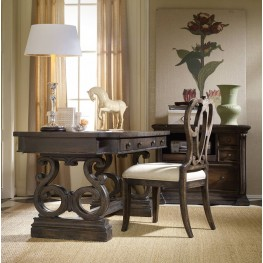 "DaValle Brown 64"" Home Office Set"
