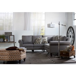 Avery Nickel Two Corner Two Sectional