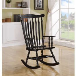 1510 Black Oak Rocking Chair