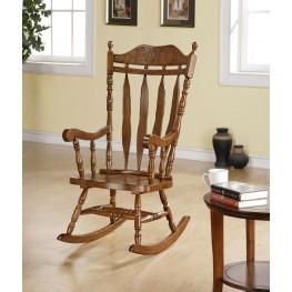 "1515 Dark Walnut 45"" Solid Wood Rocking Chair"