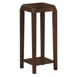 1946 Brown Oak Plant Stand