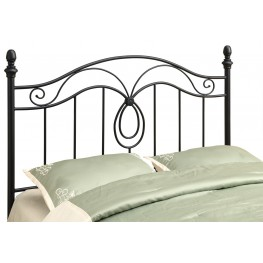 2622Q Black Queen / Full Size Size Headboard / Footbaord