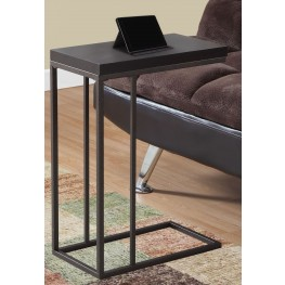 Cappuccino Bronze Metal Accent Table
