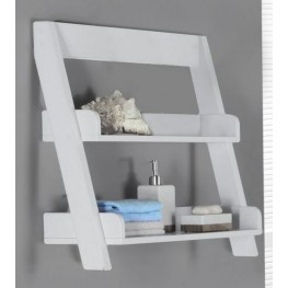 "White 24"" Wall Mount Shelf"