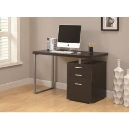 "7026 Cappuccino Left Or Right Facing 48"" Desk"