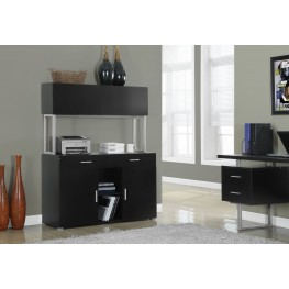 Cappuccino Hollow-Core Office Storage Credenza
