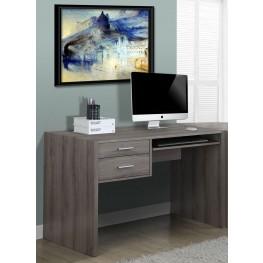 Dark Taupe Reclaimed-Look Computer Desk