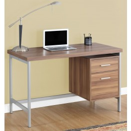 "7151 Walnut 48"" Computer Desk"