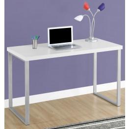"""7154 White 48"""" Computer Desk"""