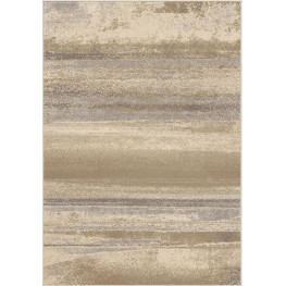 Epiphany Soft Shaded Lines Breckenridge Ivory Large Area Rug