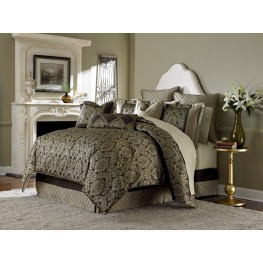 Imperial Bronze 10 piece King Comforter Set