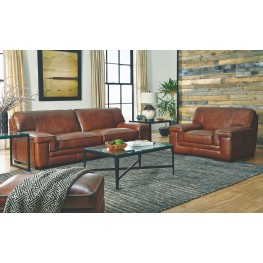 Macco Stampede Chestnut Living Room Set